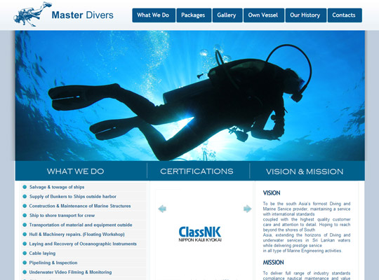 Master Divers